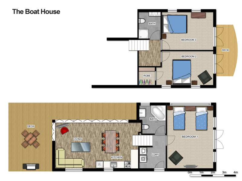 Location floor plans white sands hyams beach for Beach house designs and floor plans