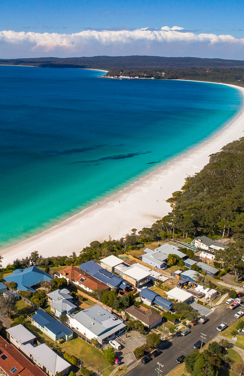white sands hyams beach jervis bay, the boat house holiday accommodation