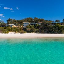 Hyams Beach Aerial View