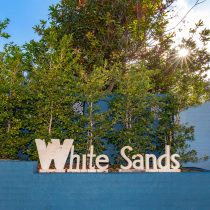 White Sands Signage