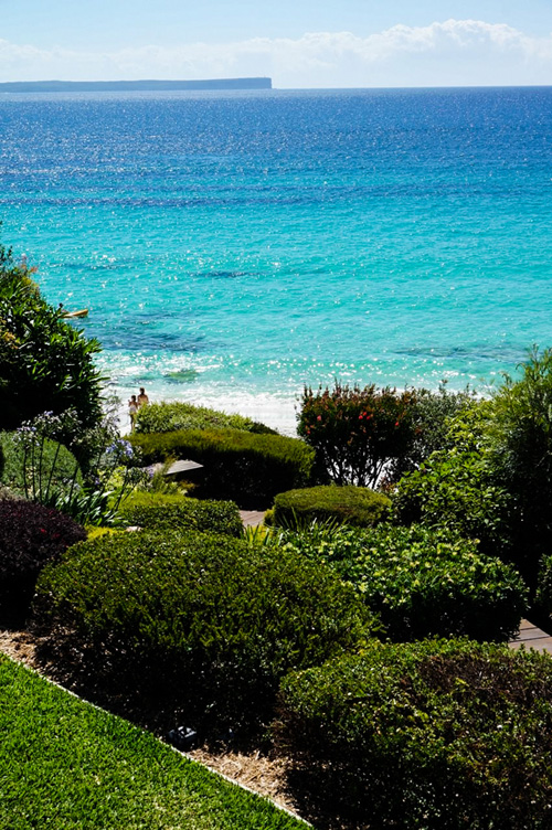 white sands hyams beach, jervis bay luxury holiday accommodation with two houses